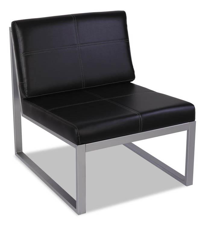 Armless Cube Chair by Alera
