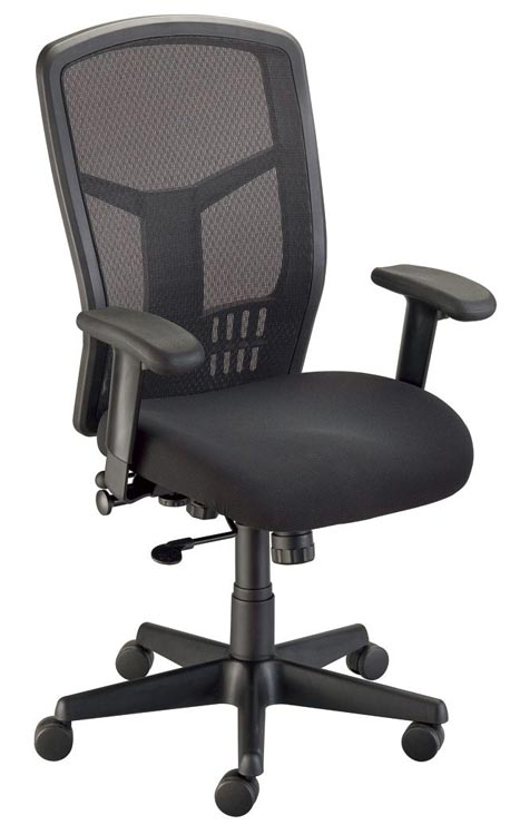 Van Tecno Mesh Back Managerfts Chair By Alvin