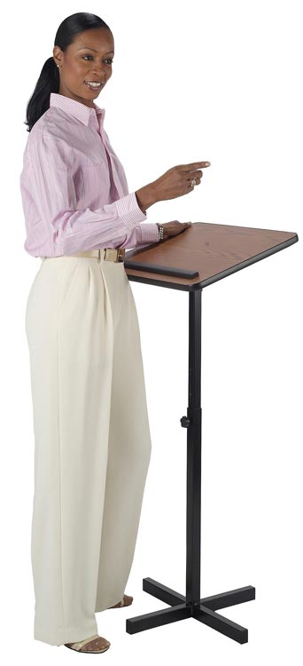 Adjustable Lectern By Amplivox