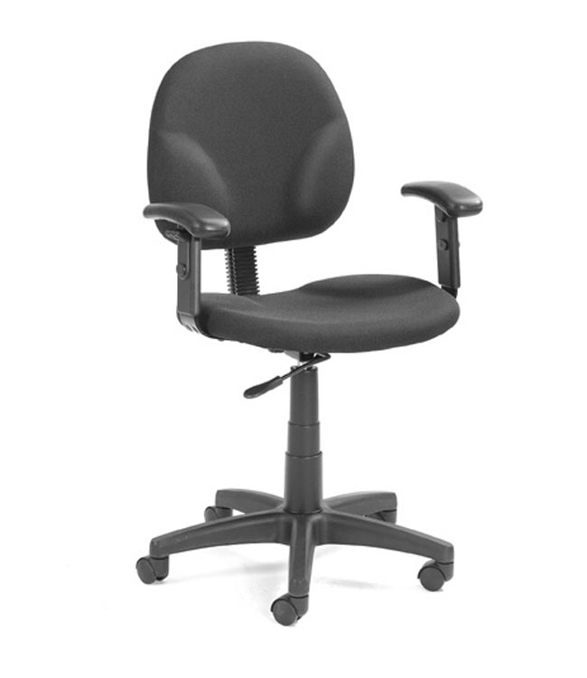 Fabric Task Chair With Arms By Boss Office Chairs