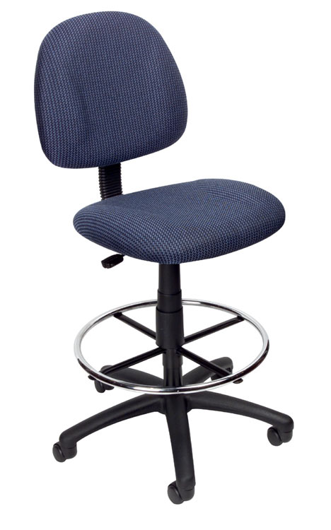 Armless Drafting Stool By Boss Office Chairs