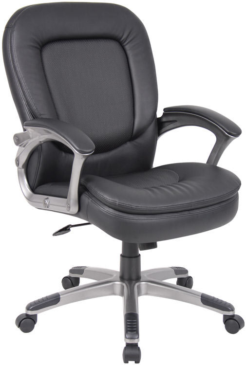 Executive Mid Back Chair By Boss Office Chairs