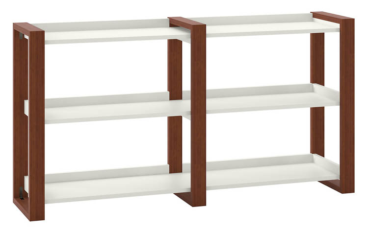 Console Table with Shelves by Bush