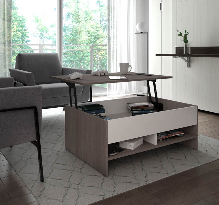 Lift-Top Storage Coffee Table by Besta