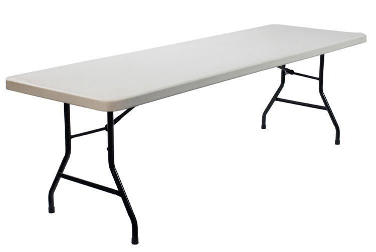 96 x 30 Blow Molded Folding Table by Commercialine