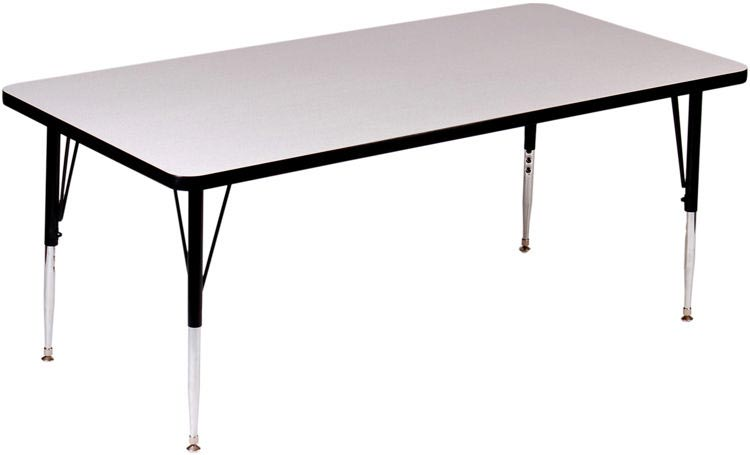 """48"""" X 24"""" Rectangular Activity Table By Correll"""
