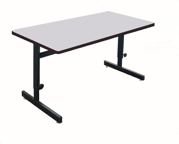 """48"""" X 30"""" Adjustable Height Work Station By Correll"""