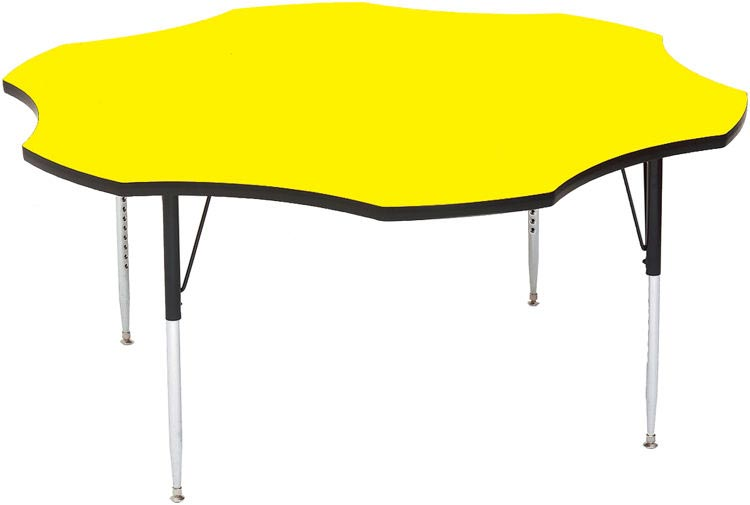 """60"""" Flower Shaped Activity Table By Correll"""