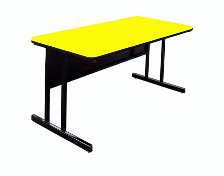 """48"""" X 30"""" Desk Height Work Station By Correll"""