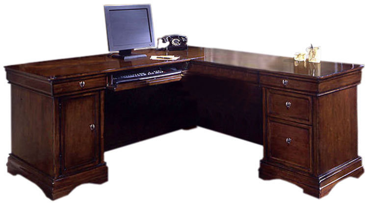 Computer L Shaped Desk by DMI Office Furniture