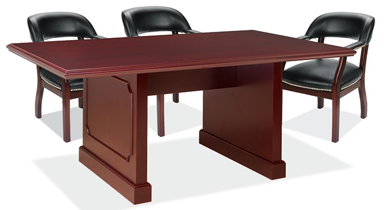 8' Veneer Conference Table by Furniture Design Group