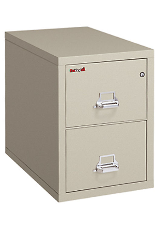 2 Drawer Fireproof Legal Safe In A File By Fireking