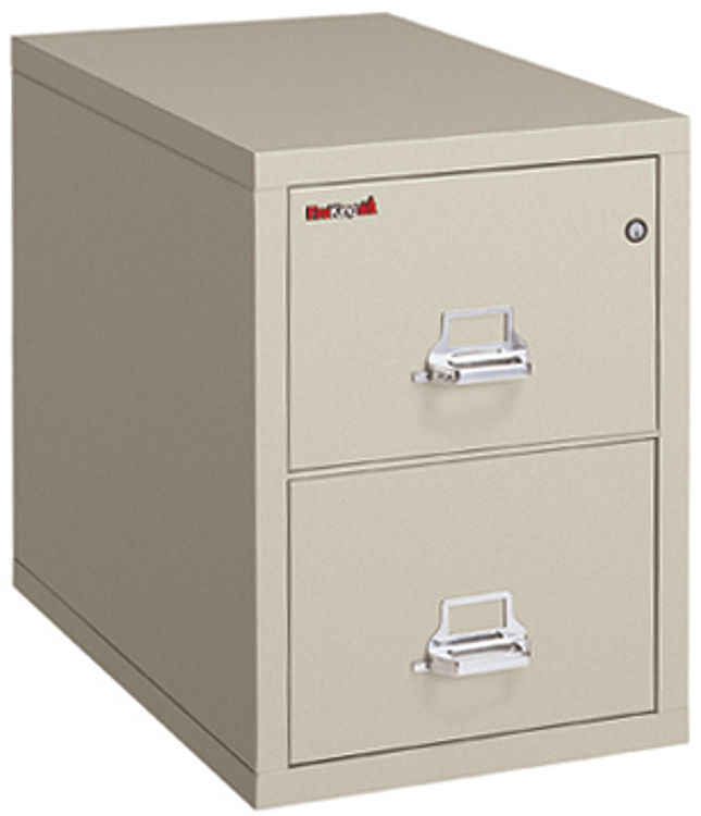 2 Drawer Legal Fireproof File By Fireking