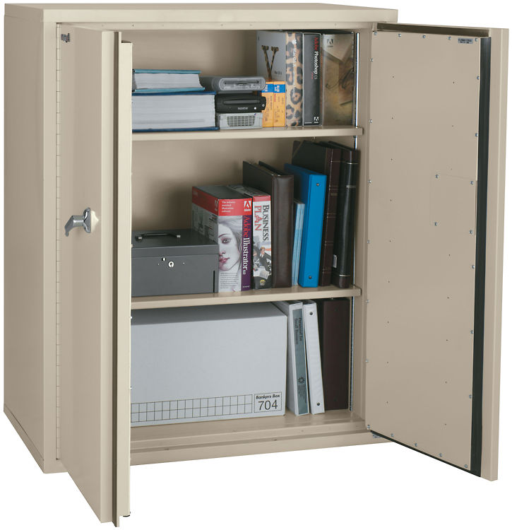"44"" High Fireproof Storage Cabinet by FireKing"