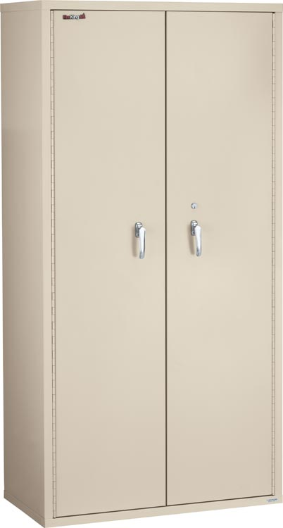 "72"" High Fireproof Storage Cabinet by FireKing"