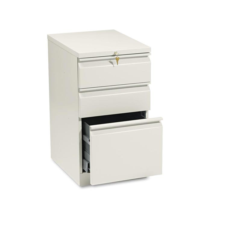 """20""""d Three Drawer Mobile File By Hon"""
