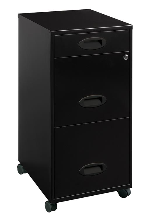 3 Drawer Mobile File Cabinet by Hirsh Industries