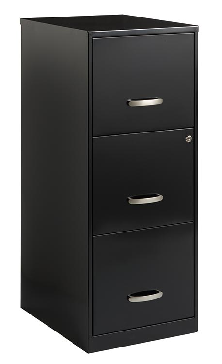 3 Drawer Letter Size Vertical File Cabinet by Hirsh Industries