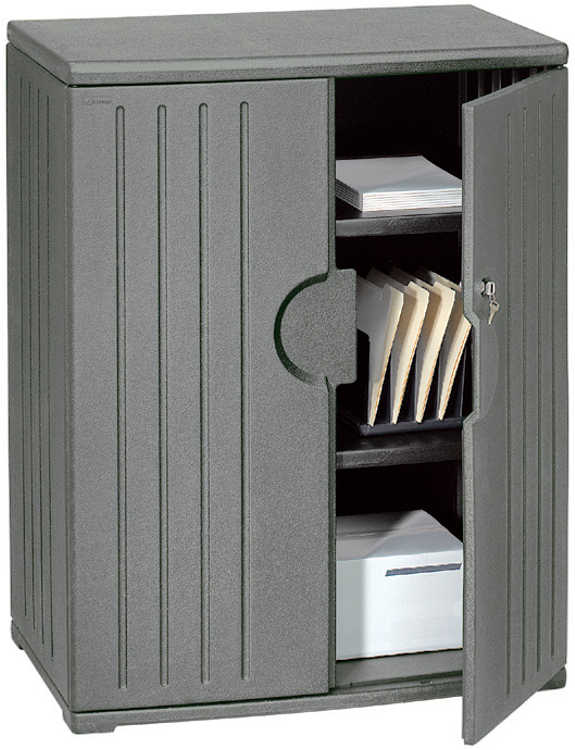 "46""H Storage Cabinet by Iceberg"