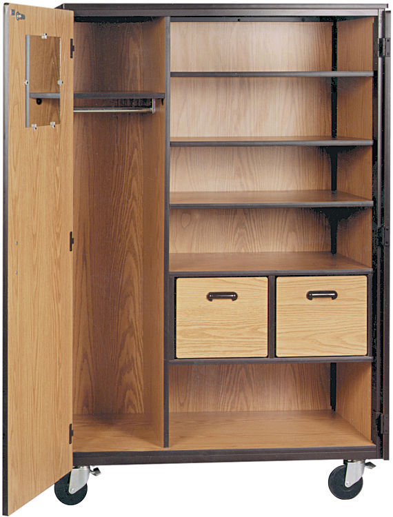 "48""W x 25""D Teachers Mobile Storage Cabinet by Ironwood"