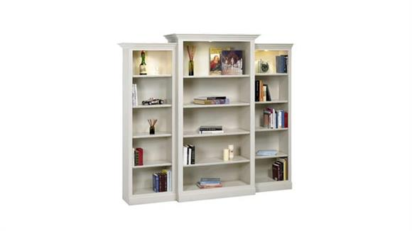 Bookcases A & E Wood Designs Hampton 3 Piece Wall Unit