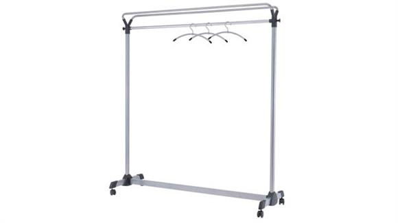 Coat Racks Alba Mobile Garment Rack