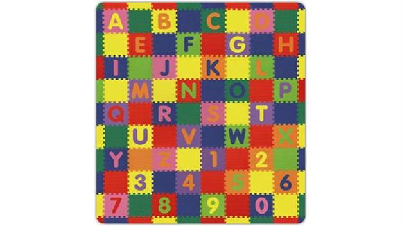 Activity & Play Alessco Large Letters and Numbers Soft Play Mat