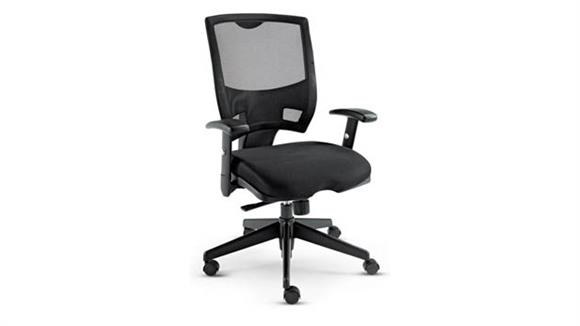 Office Chairs Alera All Mesh Multi-function Mid-Back Chair