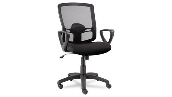 Office Chairs Alera Mesh Mid-Back Swivel/Tilt Chair