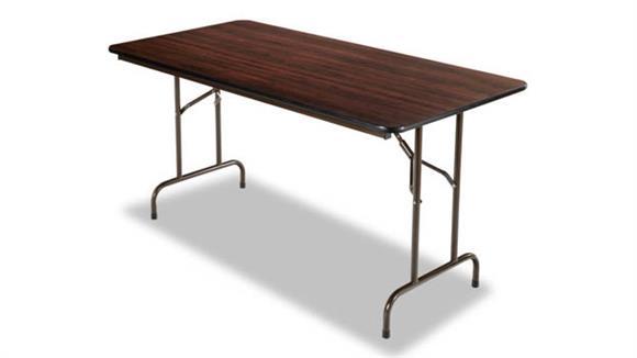 "Folding Tables Alera 72""W x 29 3/4""D x 29""H Wood Folding Table"
