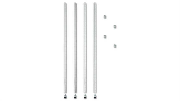 Shelving Alera Stackable Posts For Wire Shelving - 4/PK
