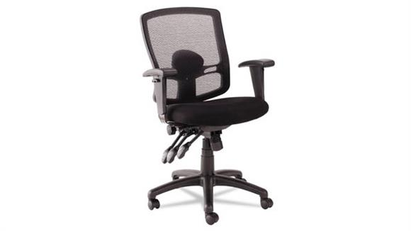 Office Chairs Alera Petite Mid-Back Multi-function Mesh Chair