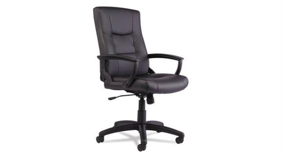 Office Chairs Alera Executive High-Back Swivel/Tilt Leather Chair