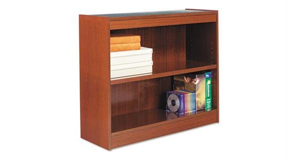 """Bookcases Alera 36""""W x 12""""D x 30""""H  Square Corner Bookcase"""