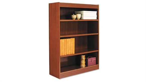 """Bookcases Alera 48"""" Square Corner Bookcase"""