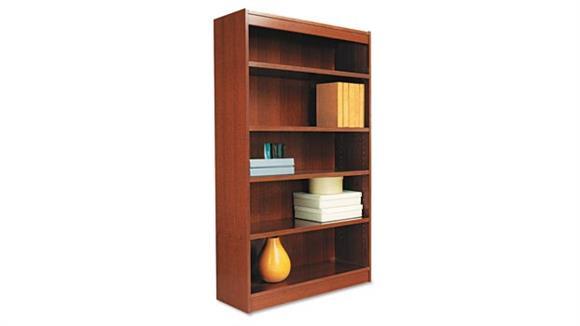 """Bookcases Alera 60""""H Square Corner Bookcase"""