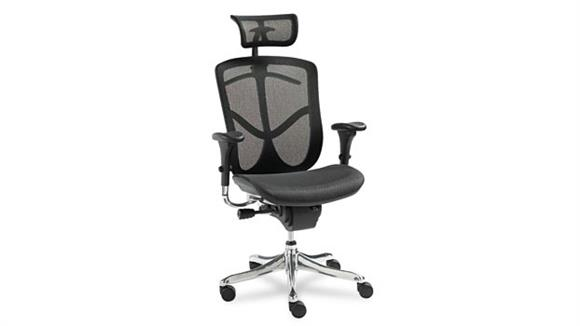 Office Chairs Alera Multifunction High Back Swivel Chair