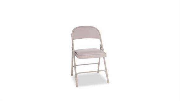 Folding Chairs Alera Steel Folding Chair with Padded Seat