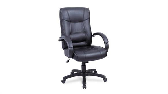 Office Chairs Alera High Back Leather Chair