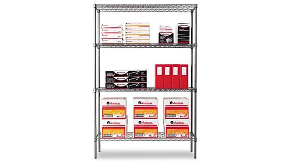 "Shelving Alera 48""W Wire Shelving"