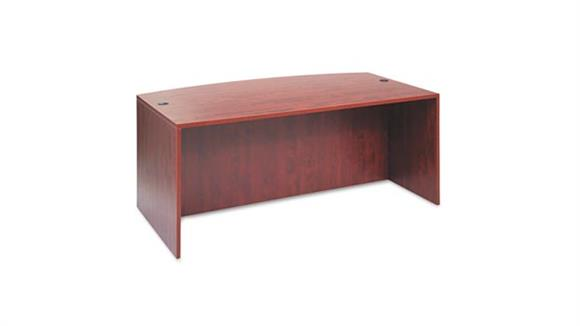 "Modular Desks Alera 72"" Bow Front Desk Shell"