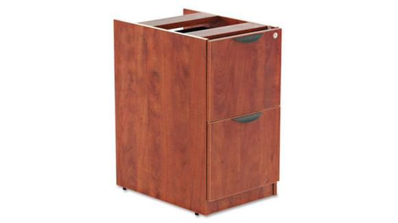 "File Cabinets Vertical Alera 15 5/8""W x 20 1/2""D x 28 1/2""H File/File Drawer Full Pedestal"