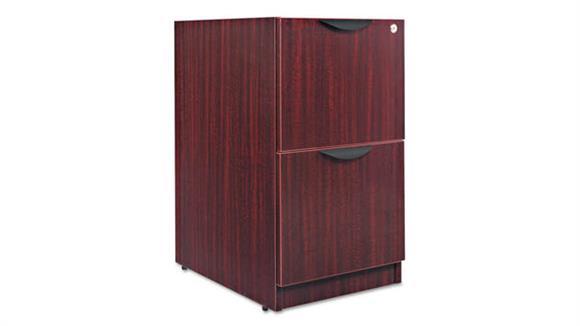 "File Cabinets Vertical Alera 15 5/8""W x 20 1/2""D x 28 1/2""H File/File Drawer Full Pedestal"