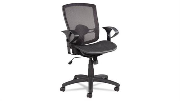Office Chairs Alera Suspension Mesh Mid-Back Synchro Tilt Chair