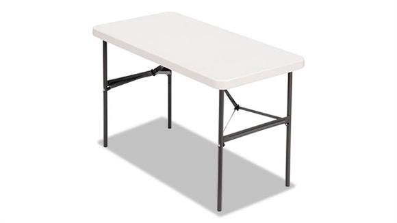"Folding Tables Alera 48"" x 24"" Folding Table"