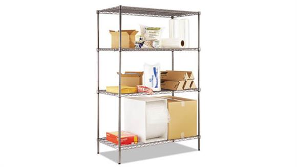 Shelving Alera Wire Shelving Starter Kit