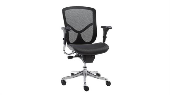 Office Chairs Alera Multifunction Mid Back Swivel Chair