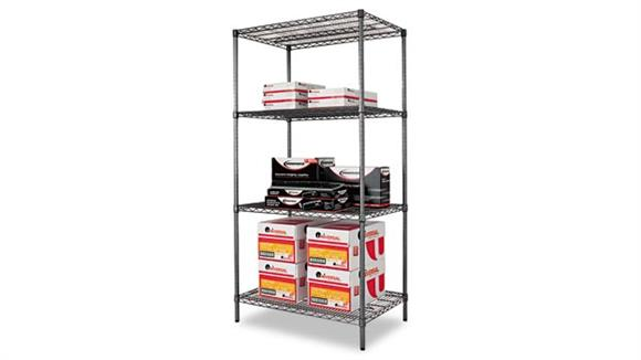 "Shelving Alera 36"" Wide Extra Deep Wire Shelving"