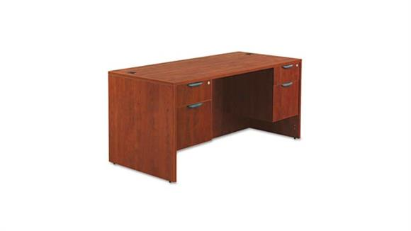 "Executive Desks Alera 66"" Double Pedestal Desk"