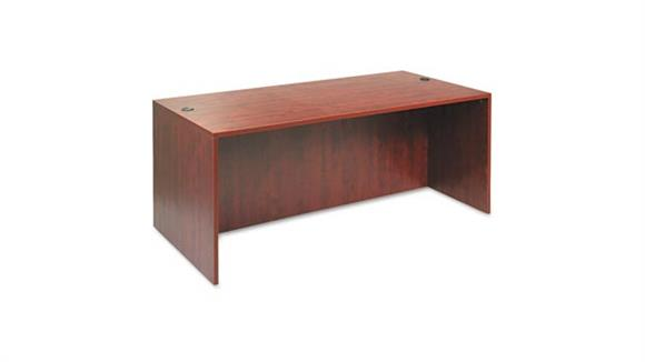 "Modular Desks Alera 72"" Straight Front Desk Shell"